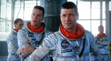 Dennis Quaid and Fred Ward in The Right Stuff