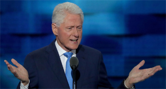 Bill Clinton at DNC