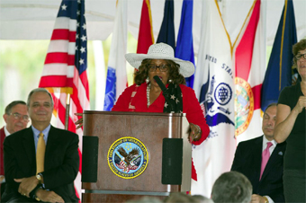 US Congresswoman Corrine Brown