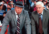 George Kennedy in scene from Police Squad