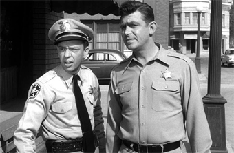 Don Knotts & Andy Griffith