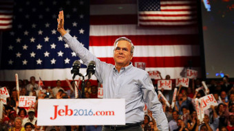 Jeb Bush Announcing he is suspending his campaign for President