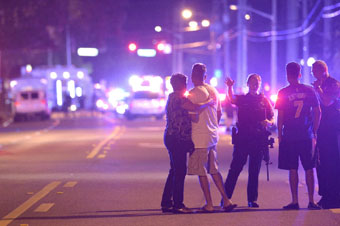 Pulse Nightclub street scene