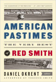 American Pastimes: The Very Best of Red Smith cover art