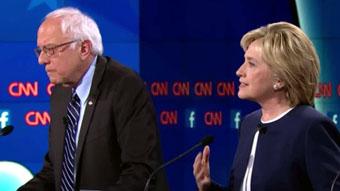 Bernie Sanders vs Hillary Clinton in NYC debate