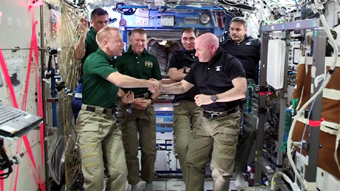 Scott Kelly change of command