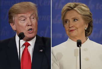 Donald Trump & Hillary Clinton, 3rd debate
