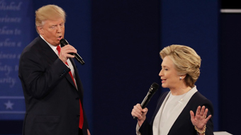 Donald Trump & Hillary Clinton, 2nd debate