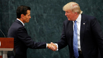 Trump meeting with Pena Nieto