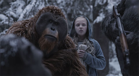 scene from War for the Planet of the Apes