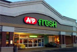 A & P store front