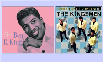 Ben E. King album covers