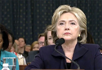 Hillary Clinton at Benghazi trial