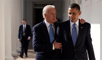 VP Joe Biden with President Obama