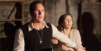 scene from The Conjuring 2
