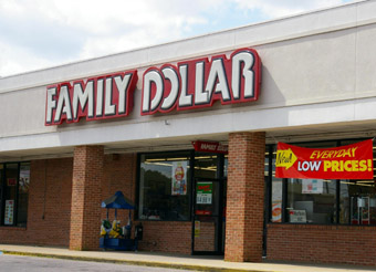 Dollar Store storefront