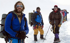 Scene from Everest film