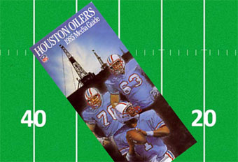 Houston Oilers Media Guide