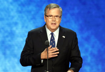 Jeb Bush at the RNC