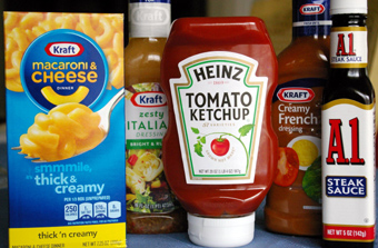 Kraft & Heinz products