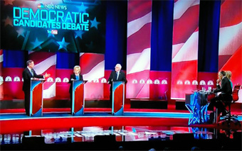 Last Democratic Debate 2016