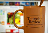 Thursday REview coffee mug