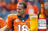 Peyton Manning and Budweiser