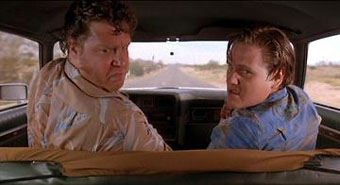 Scene from Raising Arizona