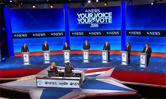 Democratic candidates debate