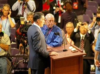 Mitt Romney at the RNC 2012