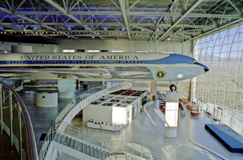 Ronald Reagan library Air Force 1