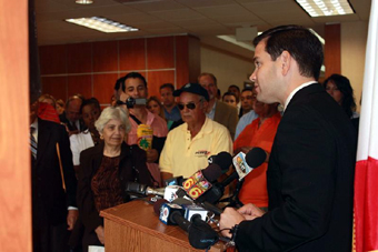 Marco Rubio in Miami Florida
