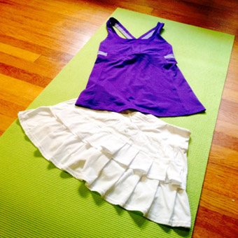 Runners dress