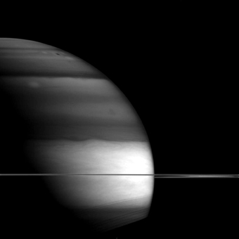 Saturn in repose