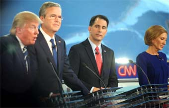 Scott Walker at CNN debate