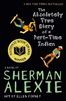 Sherman Alexie book cover art