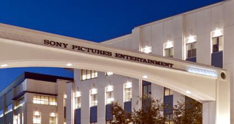 Sony Pictures Entertainment sign