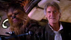 Chewbacca and Han Solo of Star Wars
