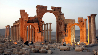 Temple at Palmyra
