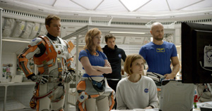 Team in The Martian