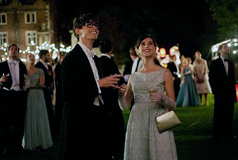 Scene from The Theory of Everything