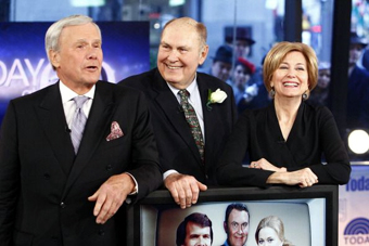Willard Scott with Tom Brokaw and Jane Pauley