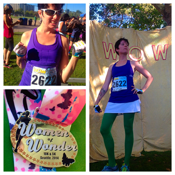 Women of Wonder run
