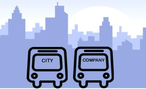 City Vs Company Buses